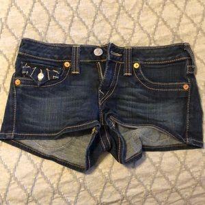 Size 27 True Religion Shorts